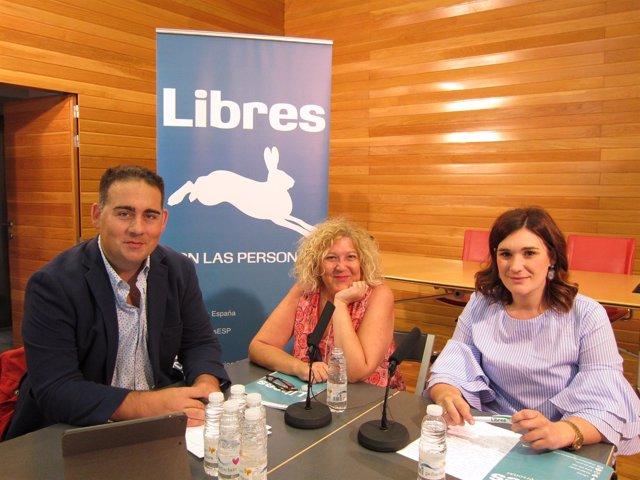Miembros de 'Libres' presenta planes educativos