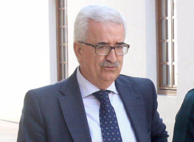 Jiménez Barrios, este miércoles en el Parlamento andaluz