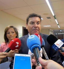 Carlos Fernánde Carriedo y María de Diego.