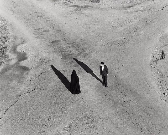 Fotografía de la serie 'Fervor' de Shirin Neshat