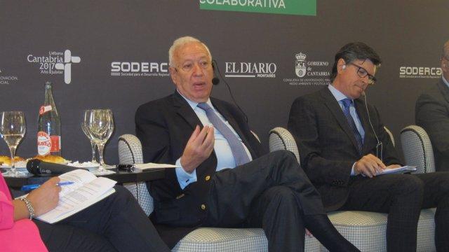 Margallo en Santander