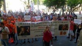 Tribunales.-Participa denuncia por prevaricación a Cabrera y por atentado y lesiones a los agentes del desalojo