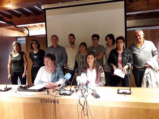 EH Bildu, Podemos e I-E se suman a un manifiesto contra el TAV.