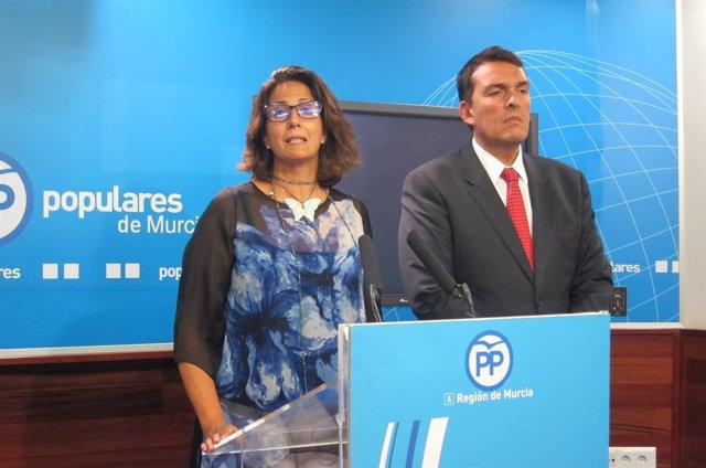 Isabel Borrego y Javier Ruano PP