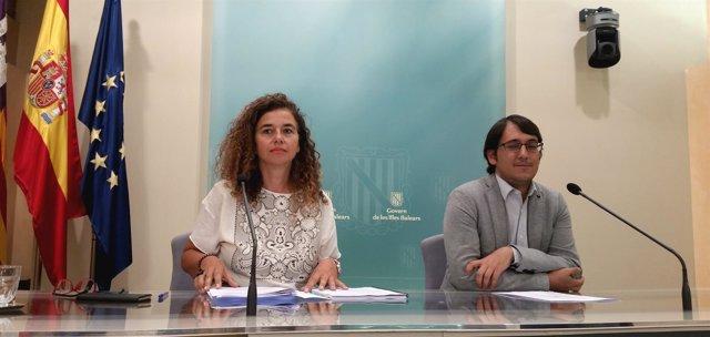 Costa Y Negueruela En Rueda De Prensa