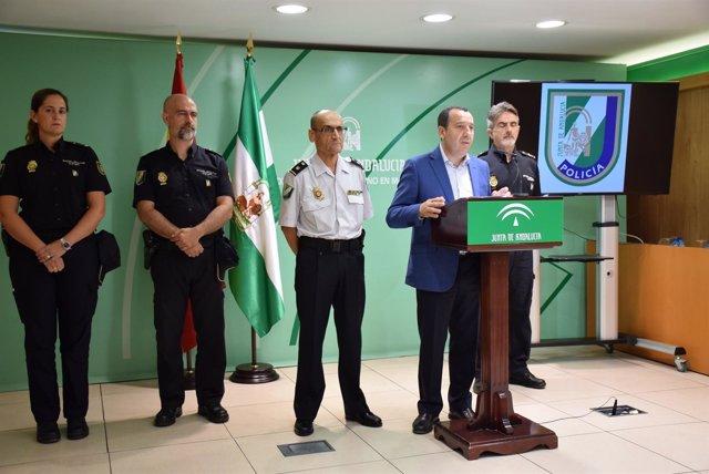 Nota Policía Adscrita A La Junta De Andalucía