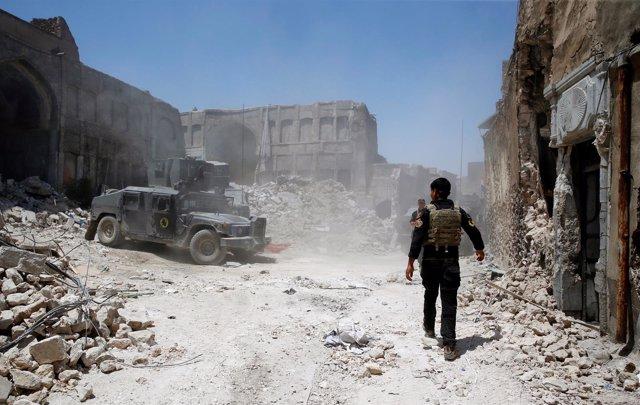 Operación en la Ciudad Vieja de Mosul
