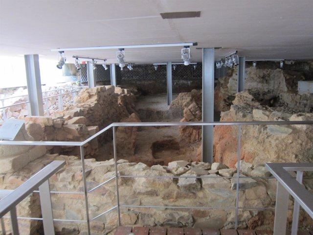 Restos romanos de Mayoralgo en Cáceres