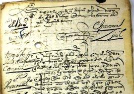 Canarias localiza en Andalucía unos 2.000 documentos desconocidos de la historia de las islas