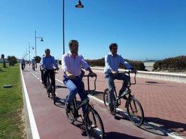La Junta finaliza los 12 kilómetros de vía ciclista que unen el núcleo urbano de El Ejido con Almerimar