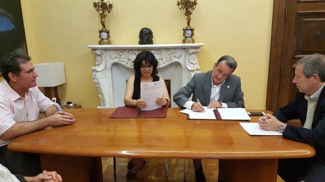 Np. La Diputación De Zaragoza Colabora Con 500.000 Euros En El Funcionamiento Y