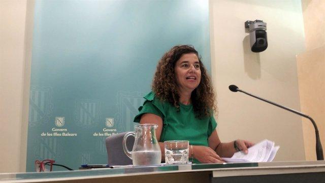La Portavoz Del Govern, Pilar Costa