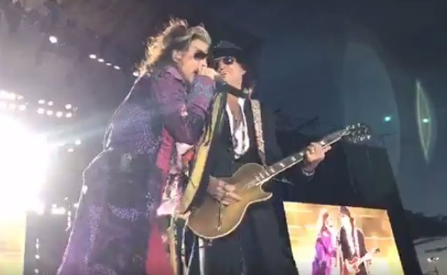 Aerosmith en Madrid
