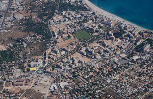 Imagen aérea de l'Alfàs del Pi