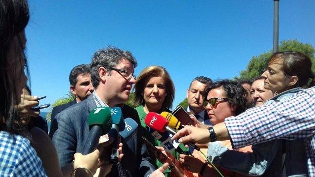 El ministro de Energía, Industria e Industria, Álvaro Nadal.