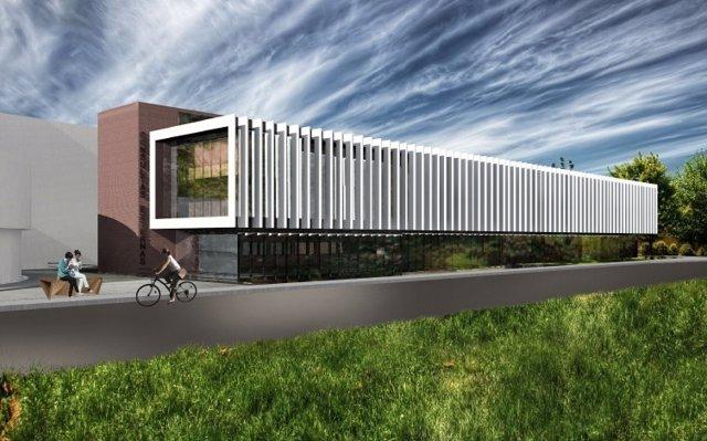 Infografía del proyecto del nuevo edificio de consultas externas de Sierrallana