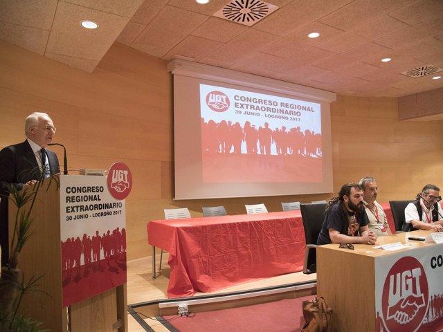 Ceniceros en el Congreso de UGT