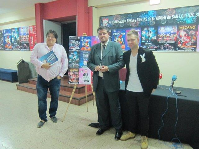 Valladolid. Presentación de la programación de fiestas del Teatro Cervantes