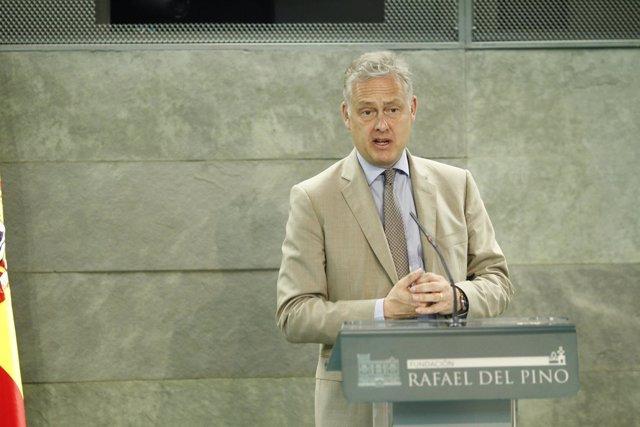El Embajador del Reino Unido en España, Simon Manley