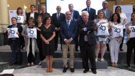 Lambán asegura que Aragón es líder en derechos sociales y solidaridad