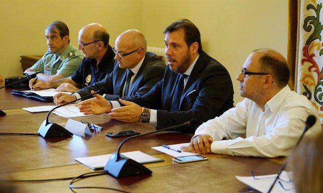 Reunión de la Junta Local de Seguridad en el Ayuntamiento