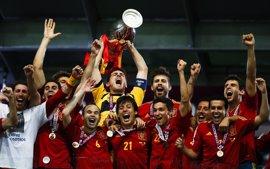 El 1 de julio de 2012, el día en que España entró en la historia del fútbol