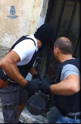 Operación 'Sulfato' de la Policía Nacional en Mallorca