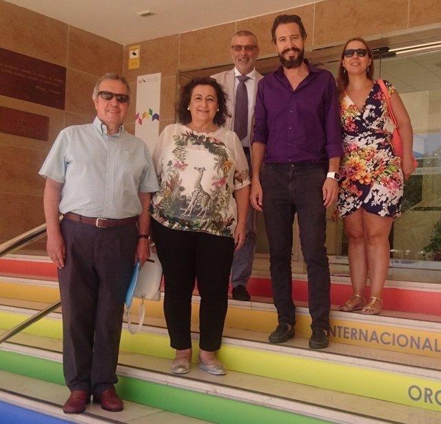 PSOE grupo municipal socialista garcía león líder apoyan a soraya garcía mesa