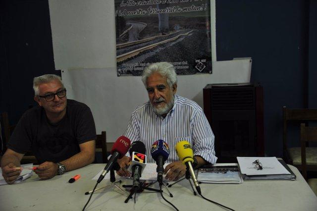 Rueda de prensa de la plataforma 'Teruel existe'