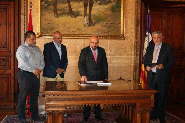 Eduardo Zúñiga toma posesión en su nuevo cargo