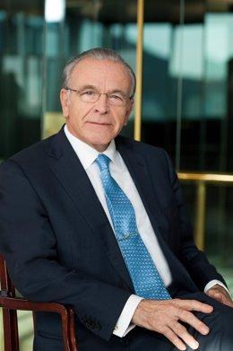 El presidente de la Fundación Bancaria La Caixa, Isidre Fainé