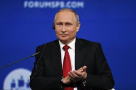 Putin prorroga las medidas de respuesta a las sanciones de la UE por la crisis de Ucrania