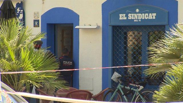 Bar de Vilanova donde hubo un tiroteo