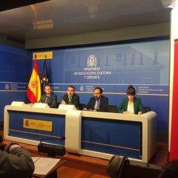 Presentación del informe del valor económico de traducción editorial