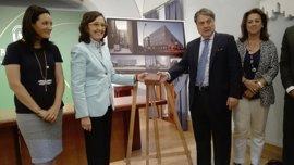 Rosa Aguilar recepciona la Ciudad de la Justicia de Córdoba a la que llegará el mobiliario en días