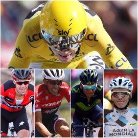 Quintana, Porte, Bardet y Contador desafían el trono de Froome