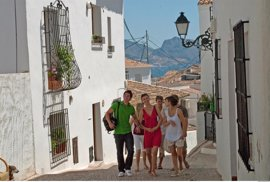 Sube un 18% la afluencia de turistas extranjeros a la Comunitat antes de verano