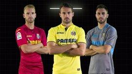 La segunda y tercera camisetas del Villarreal para la temporada 2017-18 serán granate y gris