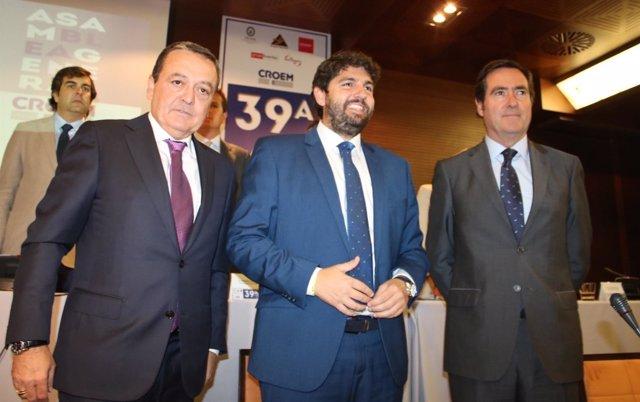 López Miras, clausura la XXXIX Asamblea General de CROEM