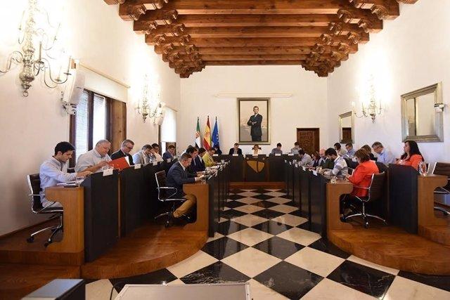 Pleno de la Diputación de Cáceres mes de junio