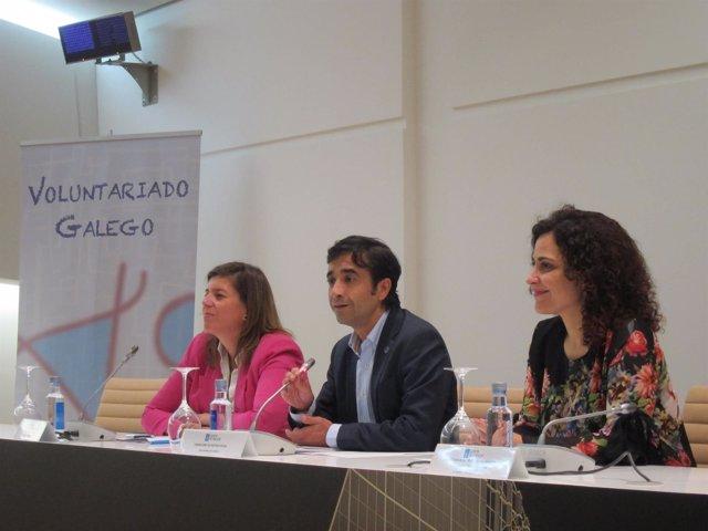 Presentación del programa 'Acompaño' de la Xunta