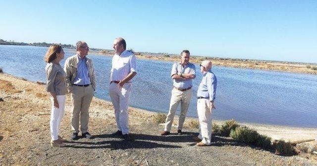 Los diputados nacionales por el PSOE de Huelva, Díaz Trillo y Pepa González Bayo