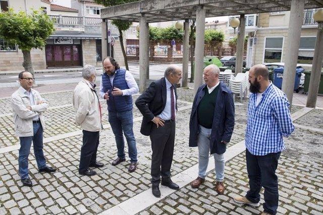 Presentación del proyecto de urbanización de la Plaza de la Constitución