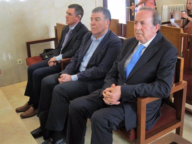 Jaume Matas, Daniel Horacio Mercado y José María Rodríguez