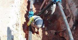 Quart de Poblet mejora los servicios del polígono industrial con la sectorización de la red de tuberías