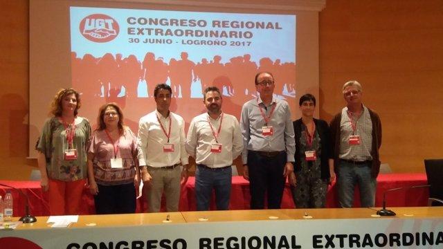 Izquierdo en el centro, nuevo secretario general UGT La Rioja