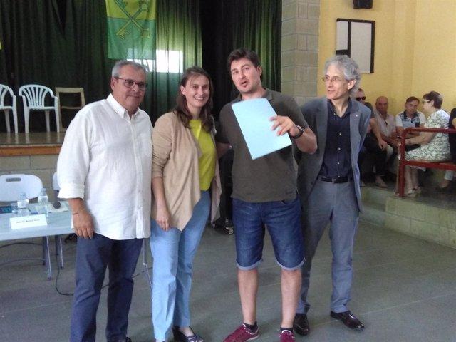 La consellera Meritxell Serret entrega escrituras de concentración parcelaria