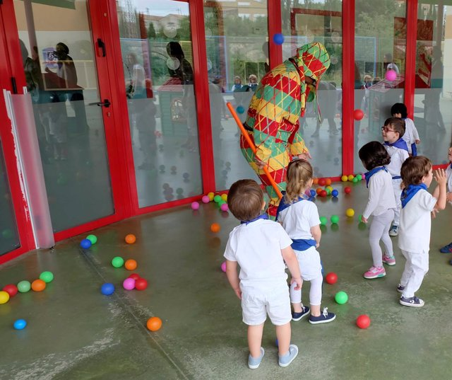 El Cipotegato visita la Escuela Infantil de Tarazona