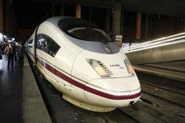 Renfe ofrece cerca de 3,3 millones de plazas en los trenes AVE-Larga Distancia