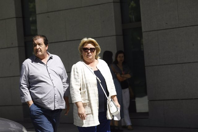 La exdiputada del PP Josefa Aguado declara en la Audiencia Nacional por Gürtel